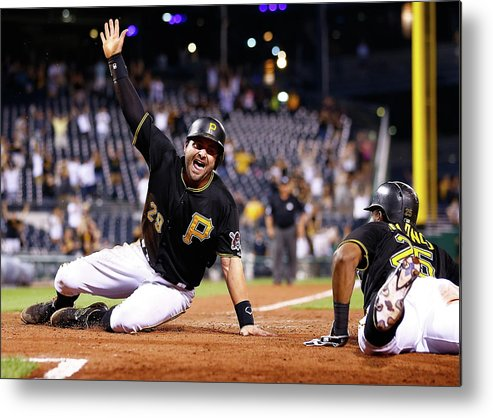 People Metal Print featuring the photograph Francisco Cervelli by Jared Wickerham