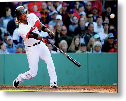People Metal Print featuring the photograph Hanley Ramirez by Winslow Townson