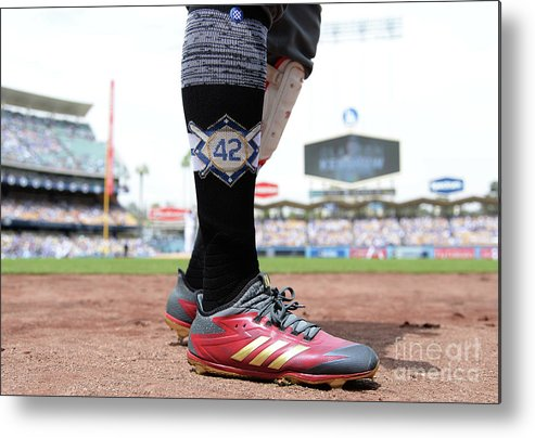 People Metal Print featuring the photograph Jackie Robinson by Kevork Djansezian
