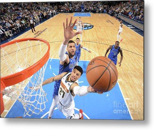 Nba Pro Basketball Metal Print featuring the photograph Jamal Murray by Glenn James