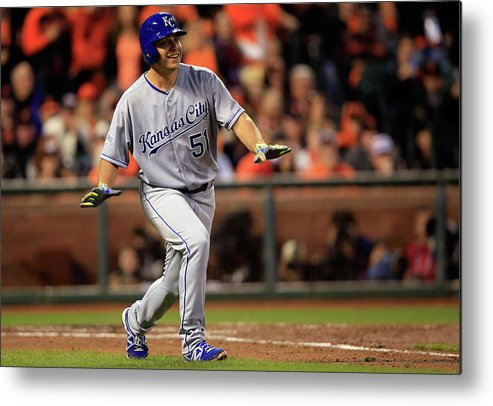 San Francisco Metal Print featuring the photograph Jason Vargas by Jamie Squire
