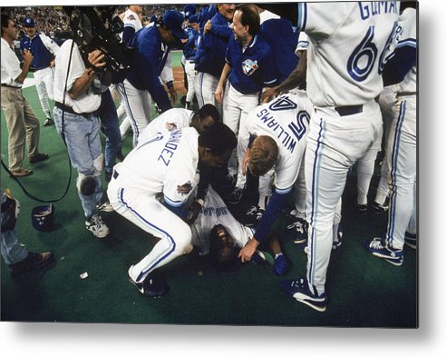 Toronto Metal Print featuring the photograph Jay Rogers by Mlb Photos