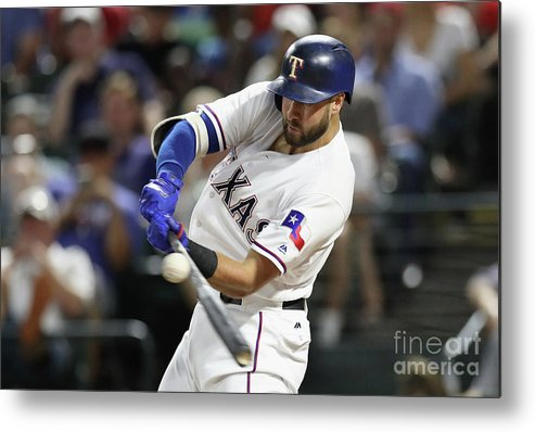 Three Quarter Length Metal Print featuring the photograph Joey Gallo by Ronald Martinez