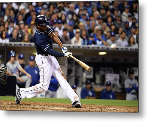 People Metal Print featuring the photograph Justin Upton by Denis Poroy