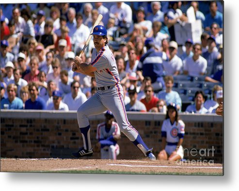 1980-1989 Metal Print featuring the photograph Keith Hernandez by Jonathan Daniel
