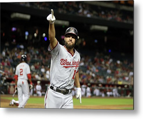 Ninth Inning Metal Print featuring the photograph Kevin Frandsen by Christian Petersen