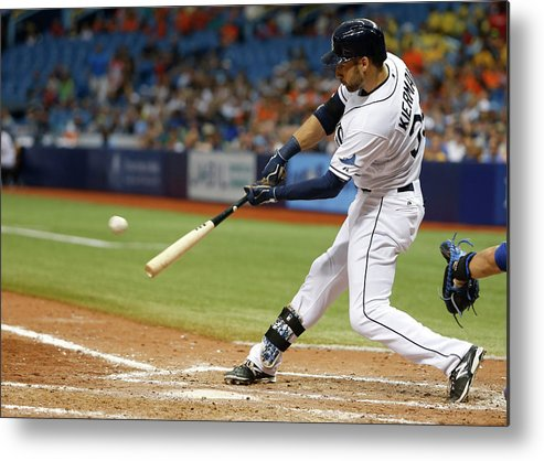Ninth Inning Metal Print featuring the photograph Kevin Kiermaier by Brian Blanco