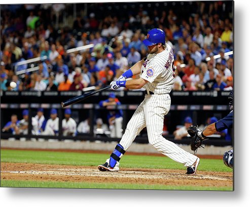 Scoring Metal Print featuring the photograph Kirk Nieuwenhuis by Jim Mcisaac