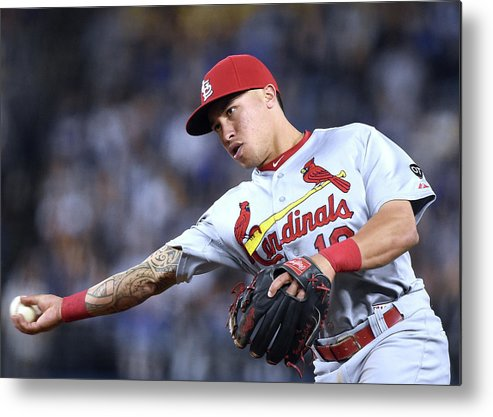 St. Louis Cardinals Metal Print featuring the photograph Kolten Wong by Harry How