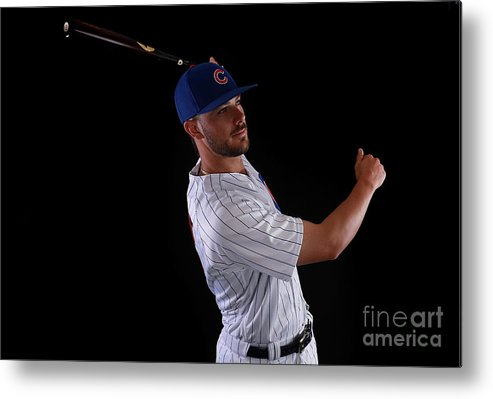 Media Day Metal Print featuring the photograph Kris Bryant by Gregory Shamus