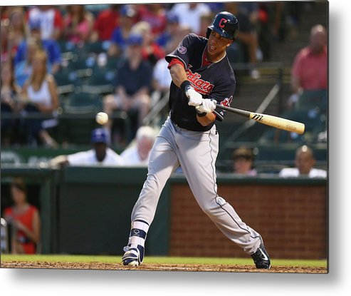People Metal Print featuring the photograph Michael Brantley by Ronald Martinez