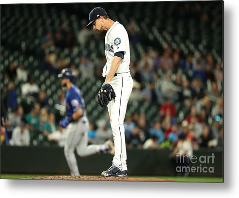 People Metal Print featuring the photograph Mike Leake and Joey Gallo by Abbie Parr