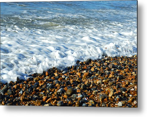 Water's Edge Metal Print featuring the photograph Movement by Lyn Holly Coorg