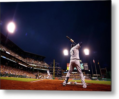 Expertise Metal Print featuring the photograph Nelson Cruz by Justin K. Aller