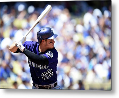 Second Inning Metal Print featuring the photograph Nolan Arenado by Harry How