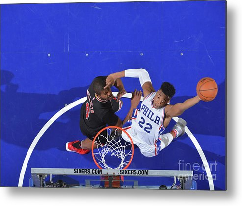 Nba Pro Basketball Metal Print featuring the photograph Richaun Holmes by Jesse D. Garrabrant