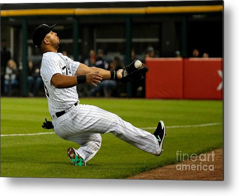 People Metal Print featuring the photograph Robinson Chirinos by Jon Durr