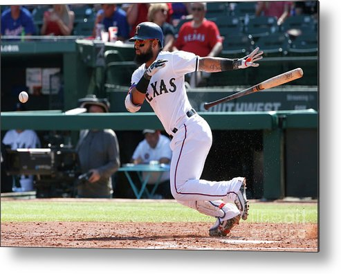 People Metal Print featuring the photograph Rougned Odor by Ron Jenkins