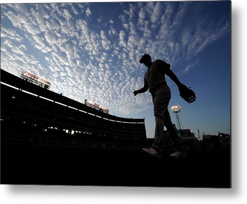 Ryon Healy Metal Print featuring the photograph Ryon Healy by Kevork Djansezian