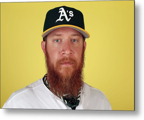 Media Day Metal Print featuring the photograph Sean Doolittle by Christian Petersen