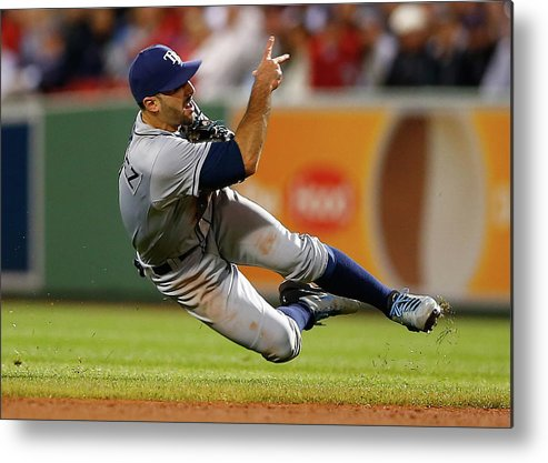 Sean Rodriguez Metal Print featuring the photograph Sean Rodriguez by Jared Wickerham