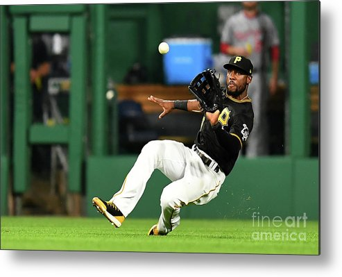 People Metal Print featuring the photograph Starling Marte and Anthony Rendon by Joe Sargent