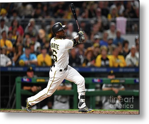 People Metal Print featuring the photograph Starling Marte by Joe Sargent