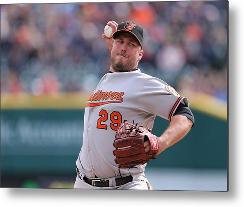 Ninth Inning Metal Print featuring the photograph Tommy Hunter by Leon Halip