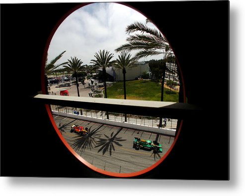 California Metal Print featuring the photograph Toyota Grand Prix of Long Beach - Day 3 by Donald Miralle