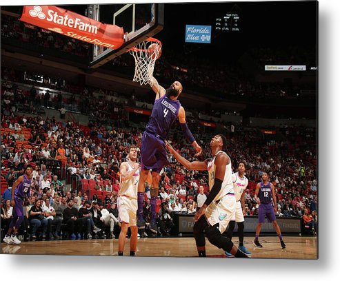 Nba Pro Basketball Metal Print featuring the photograph Tyson Chandler by Issac Baldizon