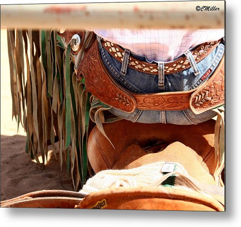 Rodeo Metal Print featuring the photograph Untitled by Carol Miller