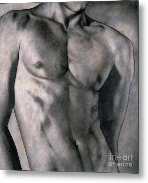 Lawrence Supino Metal Print featuring the painting Gigolo by Lawrence Supino
