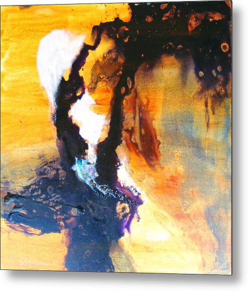 Cosmic Metal Print featuring the painting Gates Of Eden by Susan McCrae