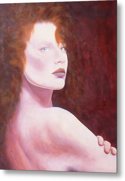 Figure Metal Print featuring the painting Helena by Marne Adler
