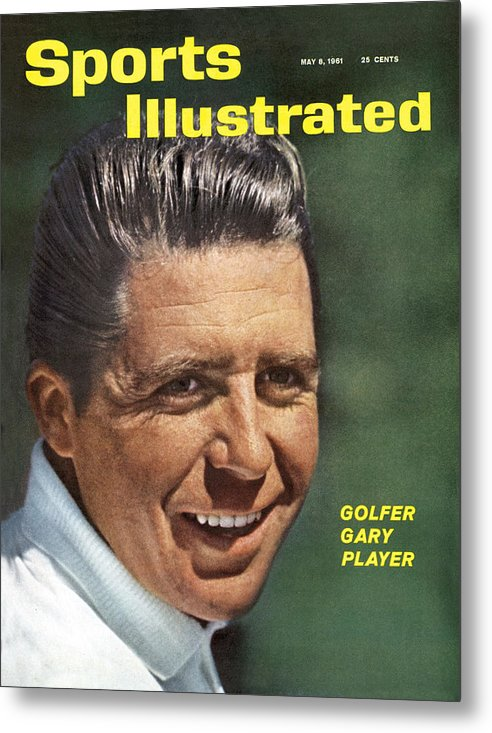 Magazine Cover Metal Print featuring the photograph Gary Player, 1961 Masters Tournament Sports Illustrated Cover by Sports Illustrated