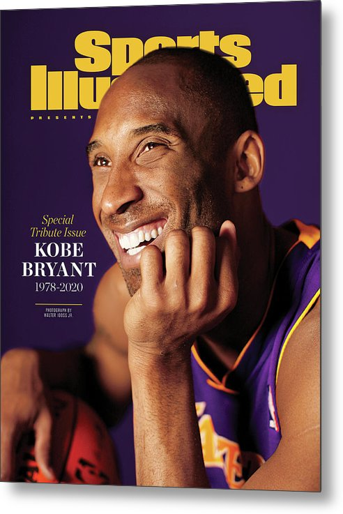 Event Metal Print featuring the photograph Kobe Bryant 1978 - 2020 Special Tribute Issue Sports Illustrated Cover by Sports Illustrated