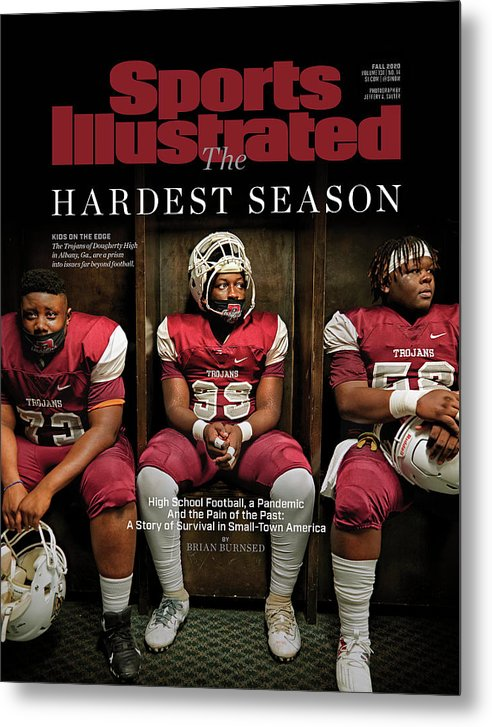 X163367_tk_2_2602cov Metal Print featuring the photograph The Hardest Season by Sports Illustrated