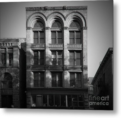 City Metal Print featuring the photograph Downtown Seattle by Patricia Schnepf