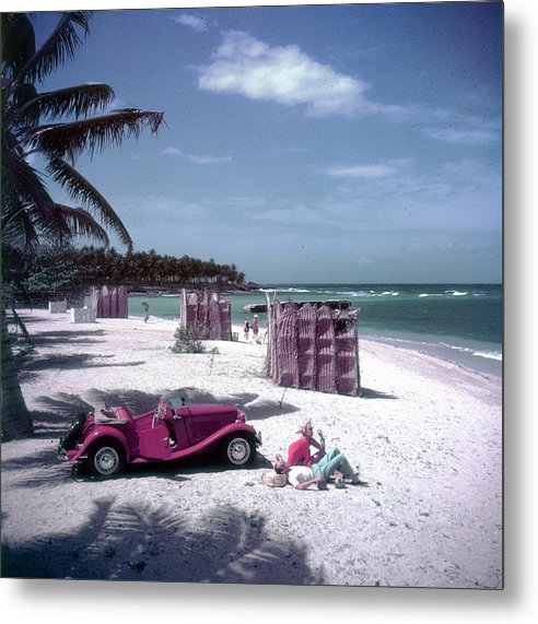 Montego Bay Metal Print featuring the photograph John Rawlings by Slim Aarons