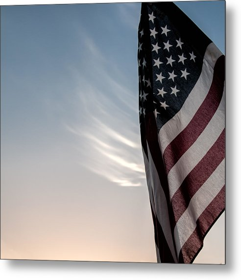 America Metal Print featuring the photograph America by Peter Tellone