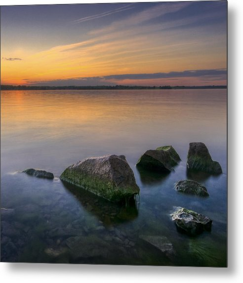 Landscape Metal Print featuring the photograph Porcelain by Ryan Heffron