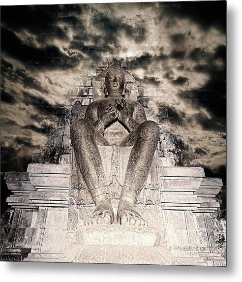 Buddah Metal Print featuring the photograph Big Buddah by Andy Frasheski
