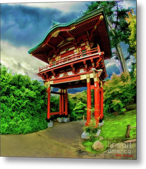 Art Photography Metal Print featuring the photograph Chinese House by Blake Richards