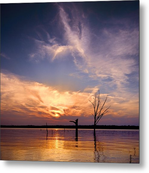 Landscape Metal Print featuring the photograph Ripple by Ryan Heffron