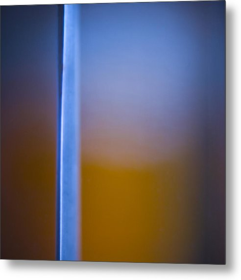 Abstract Metal Print featuring the photograph Split by Ryan Heffron
