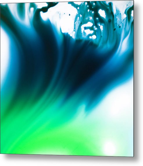 Abstract Metal Print featuring the photograph Tidal by Ryan Heffron