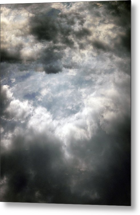 Sky Metal Print featuring the photograph Sky1 by Mikael Gambitt