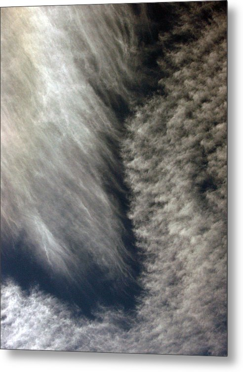 Cloud Metal Print featuring the photograph Sky14 by Mikael Gambitt