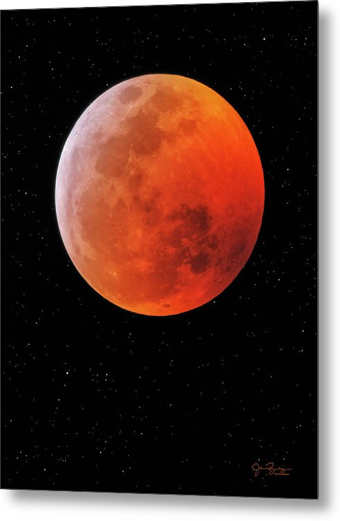 Total Lunar Eclipse - Super Blood Wolf Moon 2019 by John Bailey