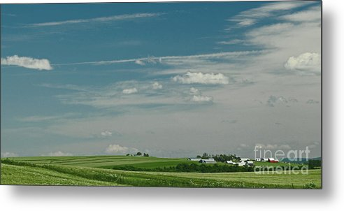 Maine Metal Print featuring the photograph Aroostook 1 by Laura Mace Rand